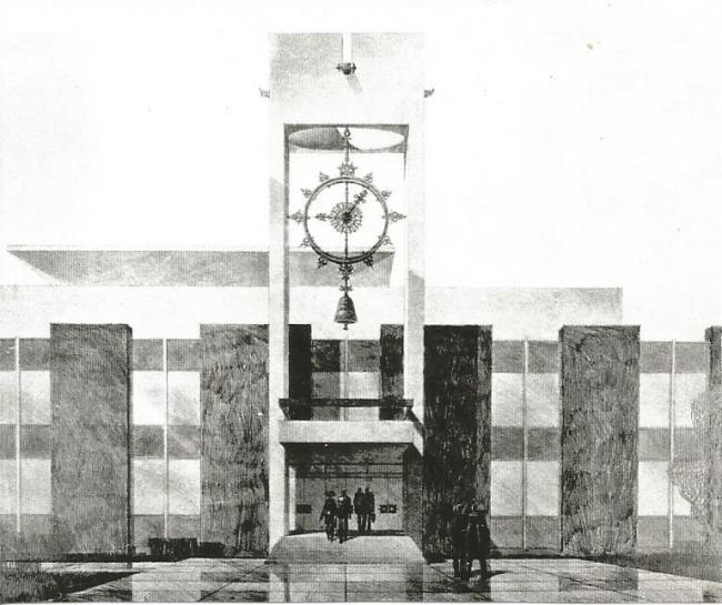 Фрагмент входного портала