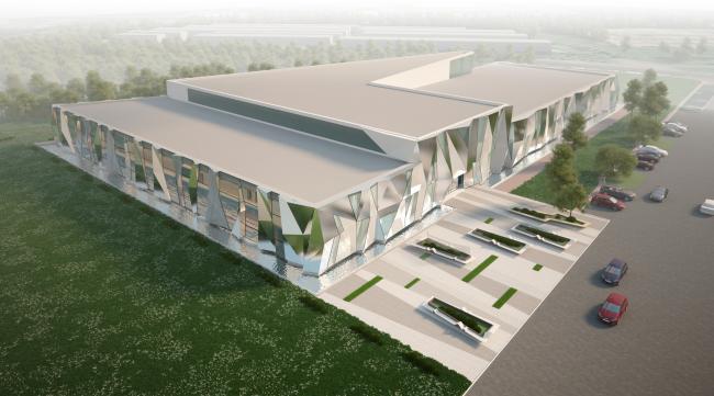 Спортивно-оздоровительный комплекс в Химках. Проект, 2016 © Архитектуриум