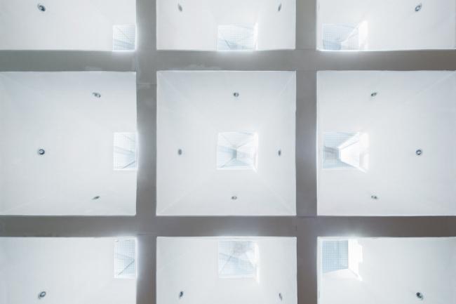 Пирамидальные фонари читального зала. 2015 г. Фото © Денис Есаков