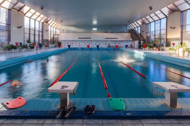Плавательный бассейн. 2015 г. Фото © Денис Есаков
