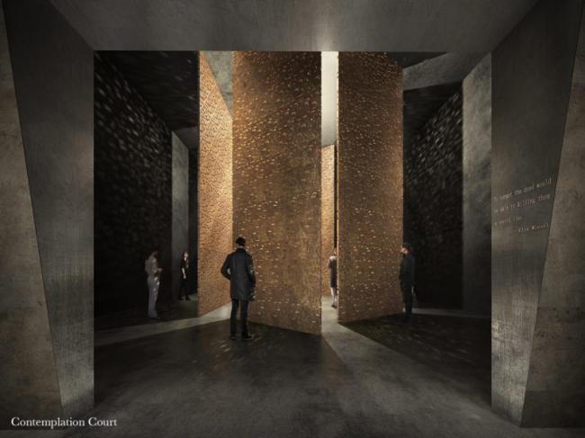 Конкурсный проект Мемориала Холокоста в Лондоне © MRC, Adjaye Associates