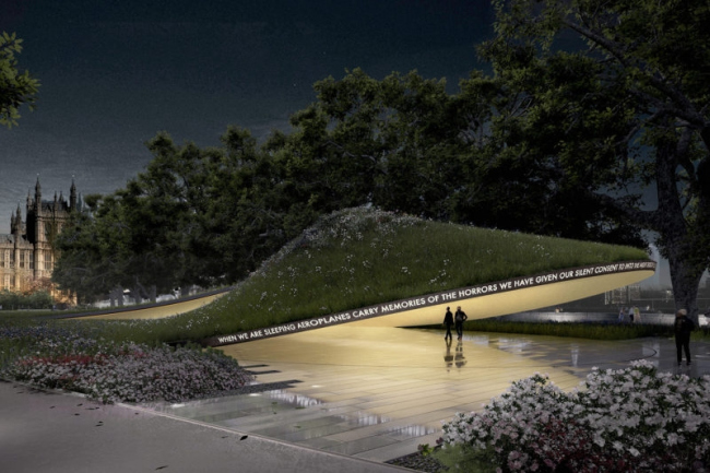 Конкурсный проект Мемориала Холокоста в Лондоне © MRC, Allied Works