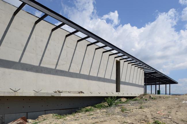 Винодельня в Гай-Кодзоре. Реализация, 2013. Kleinewelt Architekten. Фотография © И. Иванов