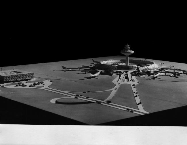 Макет аэропорта Звартноц. Проект 1974 года. Изображение предоставлено издательством ТАТЛИН