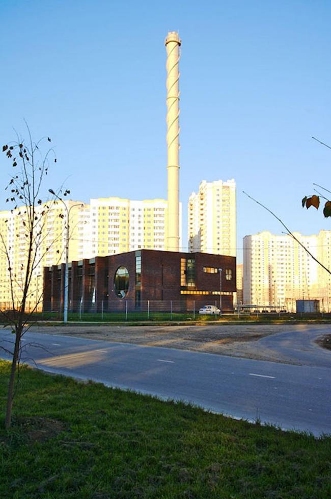 Здание котельной. Реализация, 2008 © Архстройдизайн