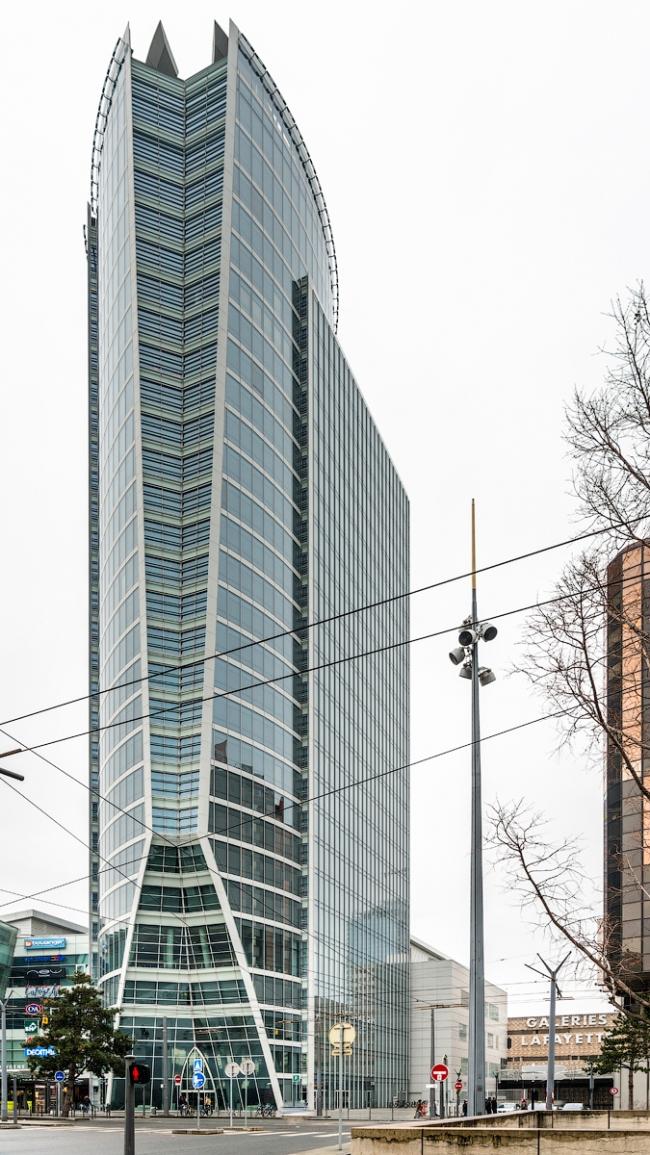 Башня Oxygene (бюро Arte Charpentier, 2007-2010). Фото © Василий Бабуров
