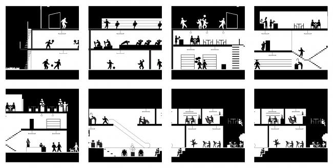 Схема, иллюстрирующая концепцию «активного цоколя». © AUC