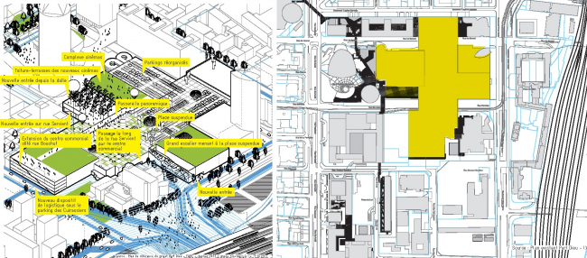 Обустройство крыши торгового центра превратит её в полноценное общественное пространство © AUC