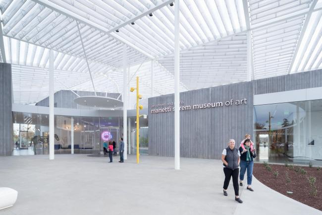 Музей искусств Манетти Шрем Калифорнийского университета (Дейвис) © Iwan Baan