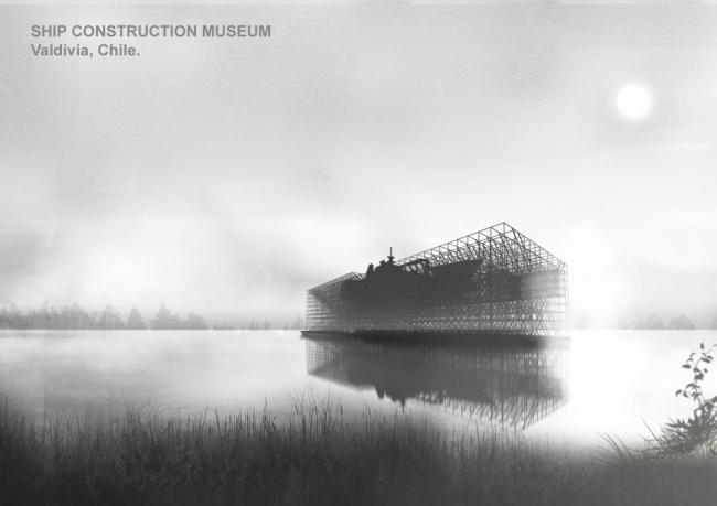Музей кораблестроения в Вальдивии. Автор:  Эмануэль Астете (Emanuel Astete).  Чилийский университет (Сантьяго, Чили)