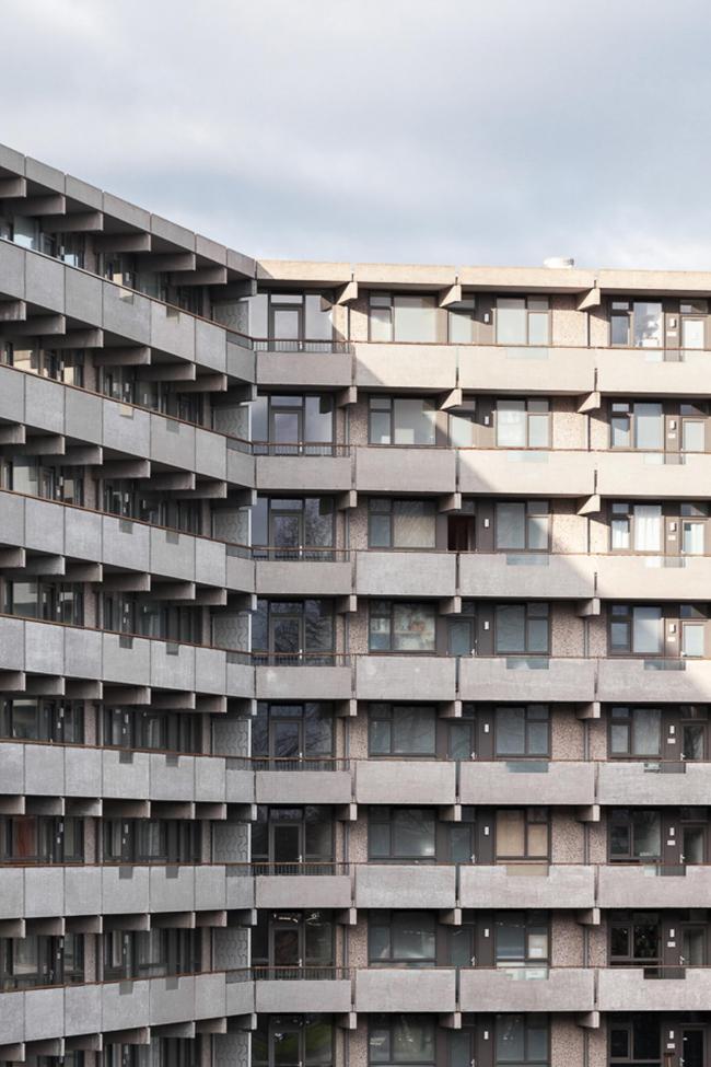 Жилой комплекс deFlat Kleiburg – реконструкция © Stijn Spoelstra