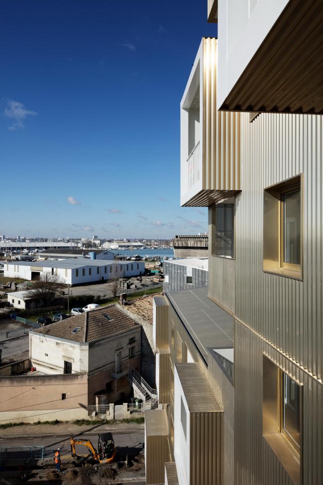 Жилой комплекс Urban Dock © Atelier Positif