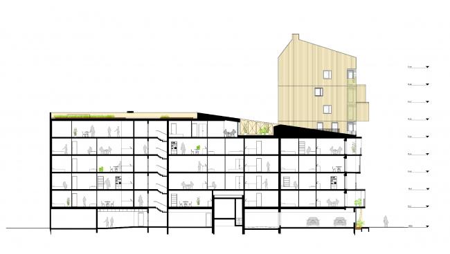 Жилой комплекс Urban Dock © Hamonic+Masson & Associés