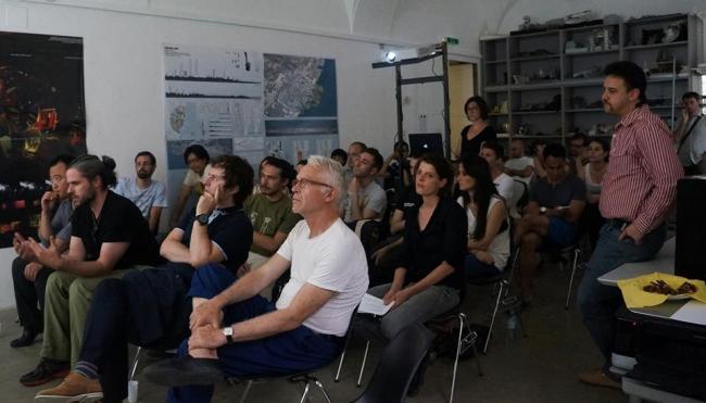 Защита дипломного проекта в Венском университете прикладных искусств