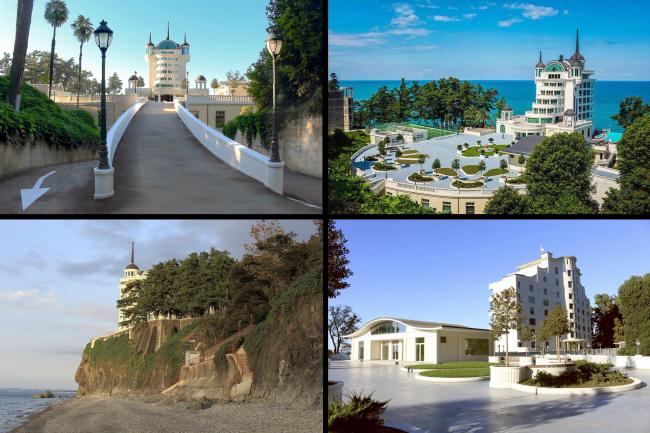 Castello Mare Hotel & Wellness Resort, постройка, 2016 © Karapi LTD