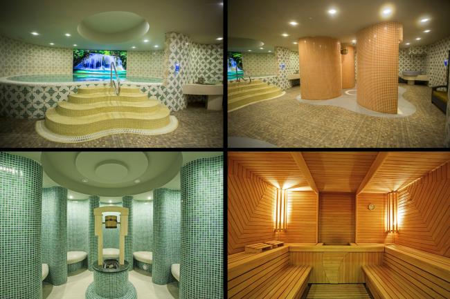 Castello Mare Hоtel & Wellness Resort, спа-центр, постройка, 2016 © Karapi LTD