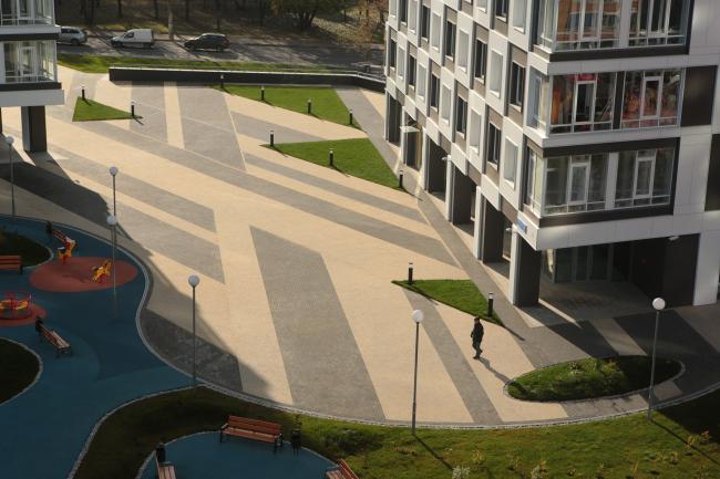 Жилой комплекс V-House © Архитектурная мастерская «Сергей Киселев и Партнеры»