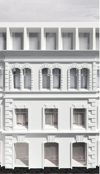Проект регенерации комплекса зданий с приспособлением под жилье на Большой Полянке © АБ «Цимайло, Ляшенко и партнеры». Заказчик: «Полянка».
