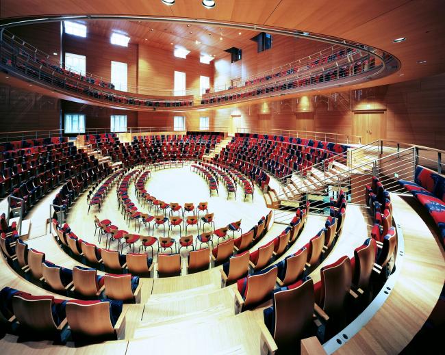 Концертный зал имени Пьера Булеза © Volker Kreidler