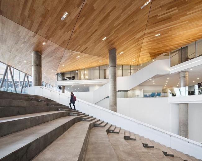 Дом студентов Высшей технологической школы. Фото: Stéphane Brugger