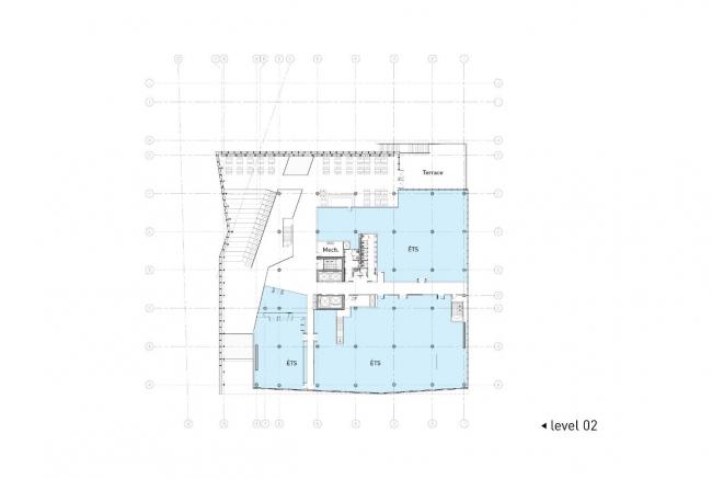 Дом студентов Высшей технологической школы © Menkès Shooner Dagenais LeTourneux Architectes