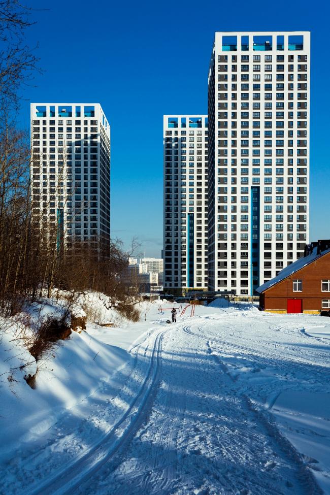 Вид со стороны Лесопарка © фотограф Максим Лоскутов