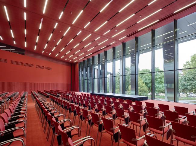 Дворец музыки и конгрессов – реконструкция. Зал «Мари Кюри» © Bruno Klomfar