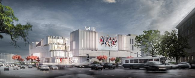 Торговый центр «Хорошо». Проект, 2013 © IQ Studio