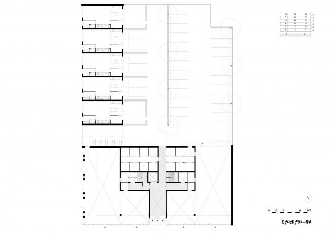 Жилой дом Patch22 © Lemniskade Projecten BV & Tom Frantzen et al.