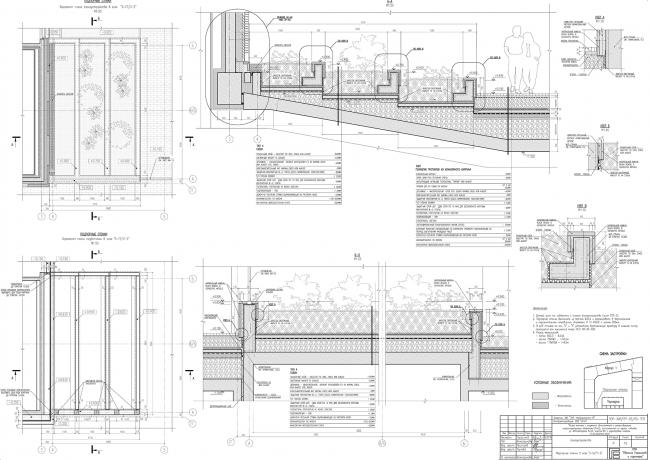 Жилой комплекс ЗИЛАРТ. Подпорные стенки в осях 3-5 © Евгений Герасимов и партнеры