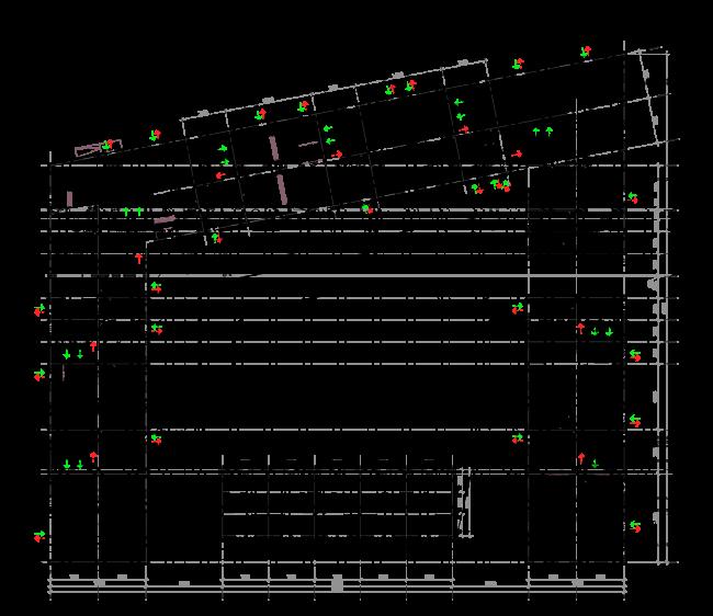 Жилой комплекс ЗИЛАРТ. План 1 этажа © Евгений Герасимов и партнеры