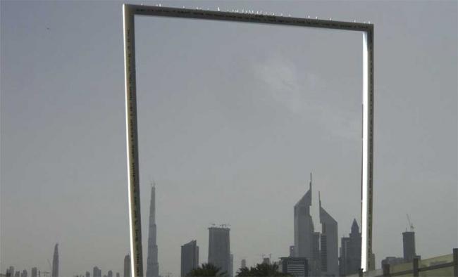 Dubai Frame, проект Фернандо Дониса. Изображение предоставлено компанией  ThyssenKrupp Elevator