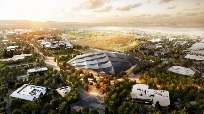Новый кампус Google. BIG и Heatherwick Studio. Изображение: Google