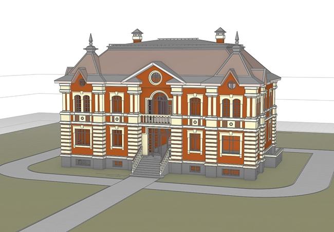 Загородный дом. Королёв Андрей (г. Оренбург)