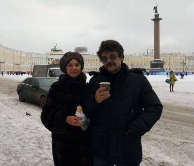Константин Михайлов и Евгений Твардовская. Фотография с сайта archnadzor.ru