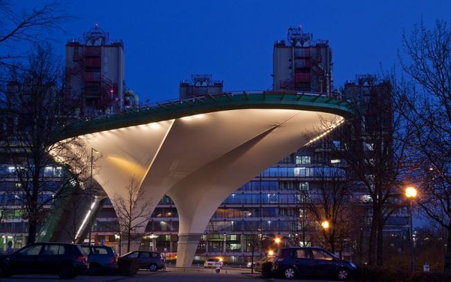 Университетская клиника в Ахене. Площадка для вертолетов (OX2architekten, 2011). Фото: Sascha Faber via Wikimedia Commons. Лицензия Creative Commons Attribution-Share Alike 3.0 Unported