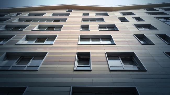 Пространство двора на уровне 2-го этажа © Евгений Орлов