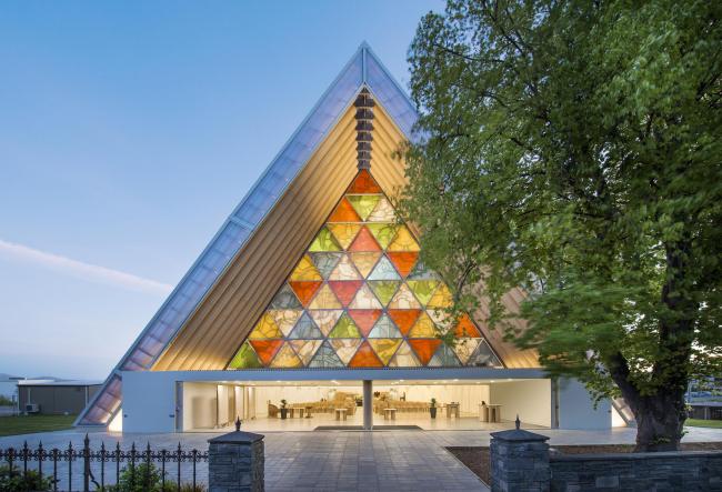 Картонный собор в Крайстчерче. Фото: Stephen Goodenough