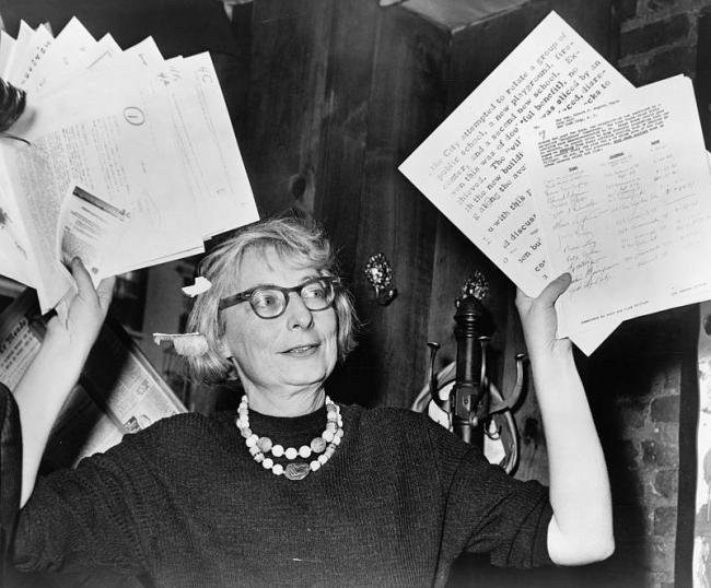 Джейн Джекобс, 1961. Фотография находится в публичном доступе