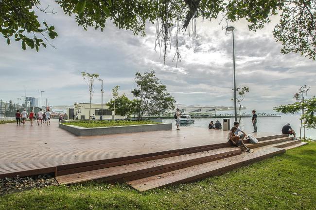 Набережная Луиса Паулу Конджи – Олимпийский бульвар © Ignasi Riera