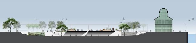 Набережная Луиса Паулу Конджи – Олимпийский бульвар © B + ABR – Backheuser and Riera Arquitetura