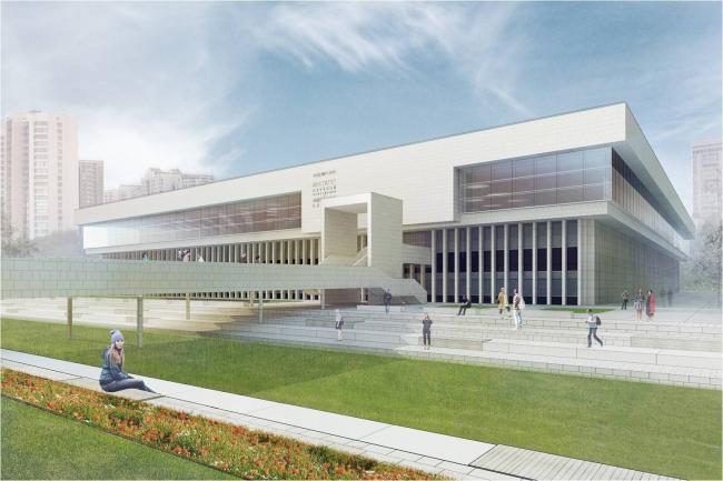 Проект восстановления библиотеки ИНИОН РАН на Нахимовском проспекте © «Гипрокон». Заказчик: «ДЕЗ СКиТР»