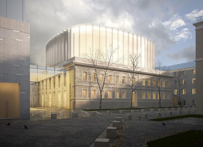 Оперный театр-студия Московской консерватории © ГУП ЦНРПМ/ Archstruktura