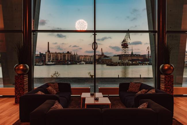 Отель Clarion. Вестибюль. Фото предоставлено Clarion Hotel