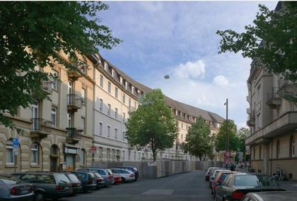 Жилой дом Schwarzwaldblock, Франкфурт. Для людей с ограниченными возможностями. Вид до реконструкции