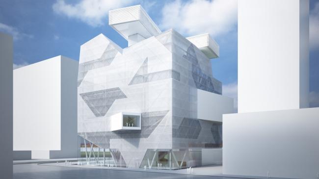 Филиал Эрмитажа в Москве, ЗИЛ. Asymptote Architecture, Хани Рашид, Лиза Энн Кутюр, проект