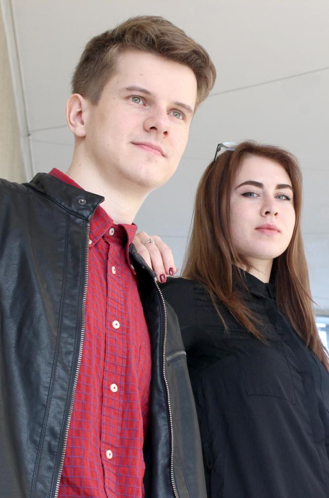 Студенты ННГАСУ: Иван Корсаков, Анастасия  Баранова. Фотография © Марина Игнатушко