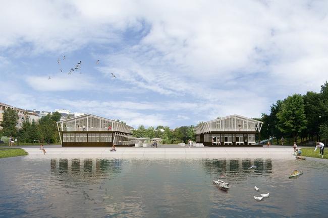 Парк «Чёрное озеро» © WOWHAUSE