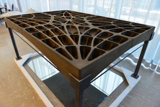Бетонная плита. Изображение предоставлено Швейцарской высшей технической школе в Цюрихе