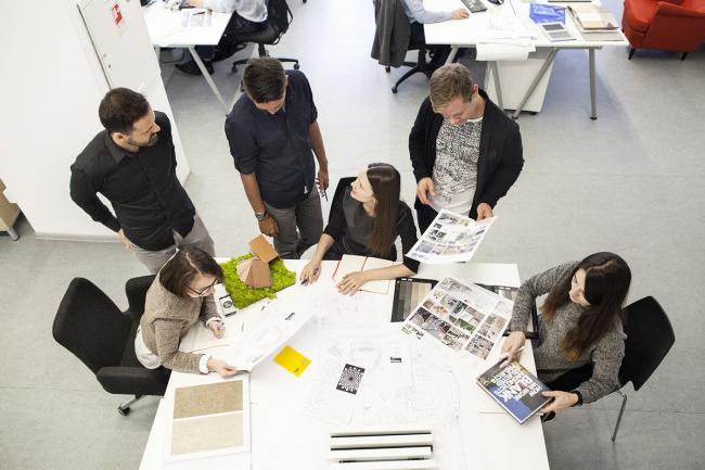Архитекторы Blank Architects за работой © Blank Architects
